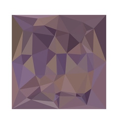 Medium purple abstract low polygon background vector