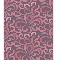 Swirl shape pattern seamless vector image