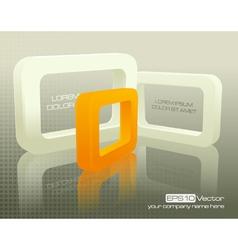 Technology business design composition vector image