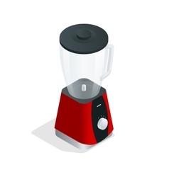 Electric blender Kitchen appliance equipment vector image