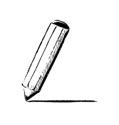 Pencil fast doodle vector image
