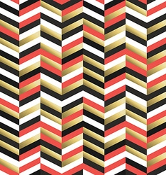 Retro abstract seamless pattern in gold vector image vector image