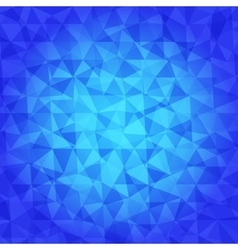 Abstract Triangle Geometrical blue tones vector image