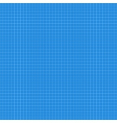 Blue squared paper seamless texture vector image vector image
