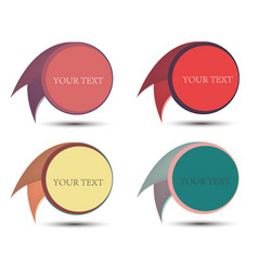 circle label new stamp sticker background sign vector image