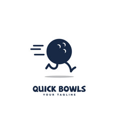 quick bowls vector image