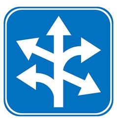 Roadsign vector