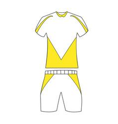 special sport uniform vector image