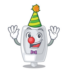 Clown interior urinal in the a character vector