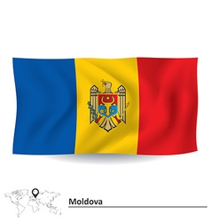 Flag of Moldova vector