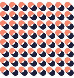 retro vintage geometric seamless pattern vector image