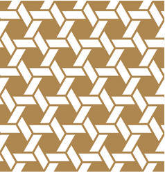 Seamless japanese pattern kumiko for shoji vector
