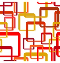 seamless rectangle pattern vector image vector image