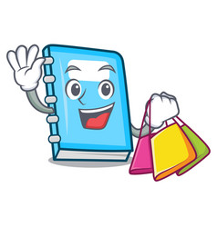 shopping education character cartoon style vector image