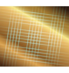 Abstract golden grid perspective space background vector