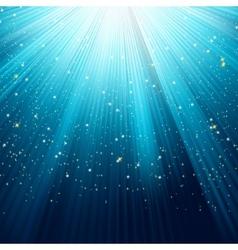 A Blue color design with a burst EPS 8 vector image