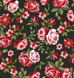 Classic roses vector