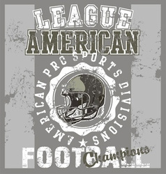 League american football vector image