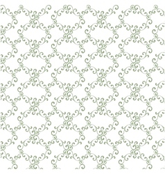 Seamless curly vintage background wallpaper vector image vector image