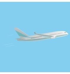Best passenger airplane vector
