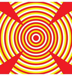 Red Target vector image vector image