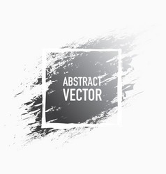 abstract splash grey vector image