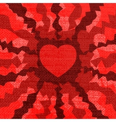 Fire Heart vector