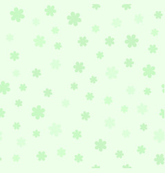 flower summer pattern seamless vector image