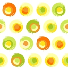 Grunge multicoloured circles vector