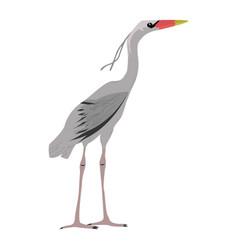 Heron simple stile vector