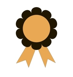 icon medal winning success of the flat vector image