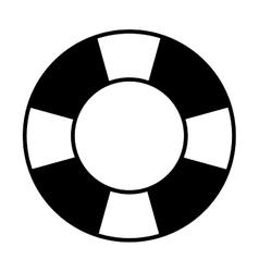 Life preserver icon vector