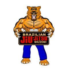 Lion bjj 0002 vector