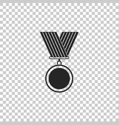 medal icon isolated winner symbol vector image