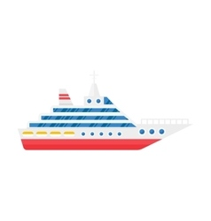 Sea ship vector image