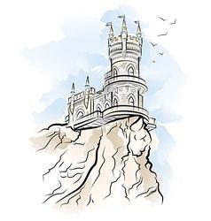 Yalta Swallow Nest vector image