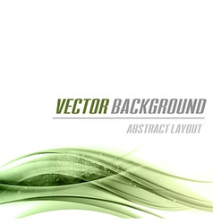 background green bottom vector image vector image