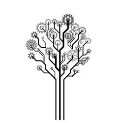 Tree of gears vector