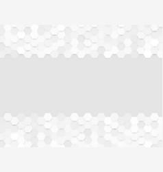 abstract gray hexa background vector image