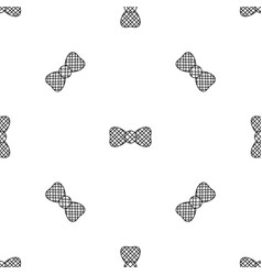 Elegant bow tie pattern seamless vector