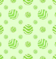 Green soft abstract seamless pattern polka dot vector