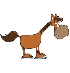 Horse Cartoon Mascot Character vector