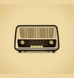 radio receiver vector image