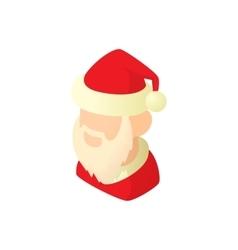 Santa Claus icon cartoon style vector image