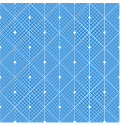 abstract blue seamless pattern from rectangles vector image vector image