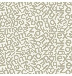 Alphabetic background vector image
