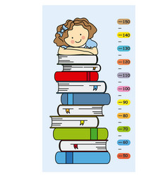 child wall meter vector image vector image