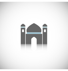 Mosque icon isolated vector image