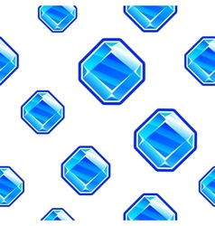 Square diamond background vector image