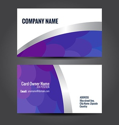 simple business template vector image